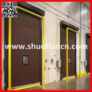Cold Room High Speed Freezer Door, Freezer Quick Rolling Cold Room Door pictures & photos