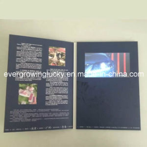 5inch LCD Screen Custom Video Birthday Card pictures & photos