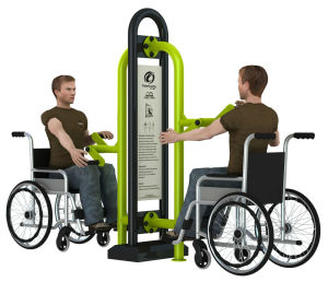 Gym Park Amusement Disabled Building Handicaped Outdoor Fitness Equipment pictures & photos