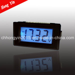 CE Certification LCD DC Voltage Panel Meter pictures & photos