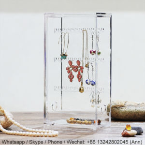 New Design Acrylic Earring Storage Box pictures & photos