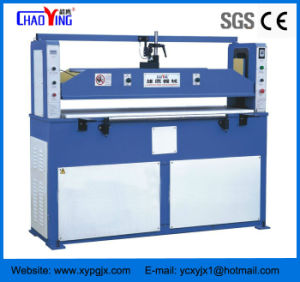 CE Hydraulic Plane Rubber Cutting Machine pictures & photos