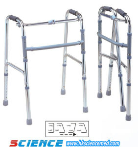 Basic Aluminum Foldable Walker (SC-WK03(A)) pictures & photos