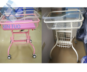 Factory Direct Price Hot Sale Hospital Baby Bed Infant Crib pictures & photos
