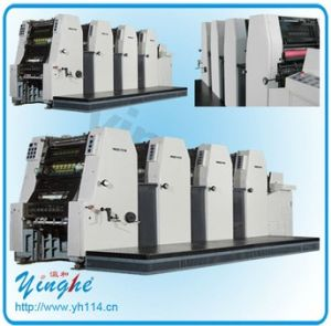 4 Color Brochure Offset Printing Press pictures & photos