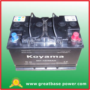 South Africa Auto Battery 657-12V66ah pictures & photos
