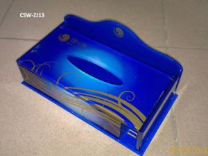 Acrylic Paper Napkin Holder (CSW-ZJ13)