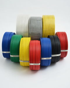 Colorful Rvv Wire with Copper Flexible, XLPE Insulation, High Voltage Magnet Wire pictures & photos