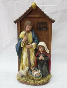 Polyresin Religious Craft, Resin Nativity Figurine