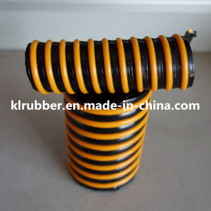 Winding Ribbed PVC Spiral Reinforced Suction Hose pictures & photos