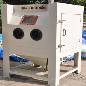 colo1010 manual sand blast machine metal dry sand blasting cabinet