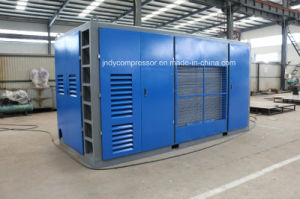 Industrial Mobile Air Cooled Screw Compressor pictures & photos