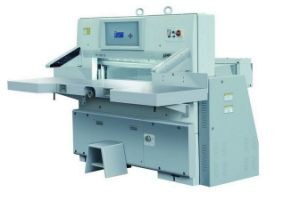 Digital Display Paper Cutting Machines of Touch Screen (SQZX92G) pictures & photos