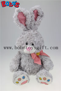 "Lovely Gray Rabbit Plush Toys Big Ear Rabbits Good Quality Can Be Customized Bos2016-01/15.7"" pictures & photos"