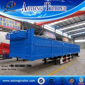 2016 New 3 Axles Cargo Van Semi-Trailer for Sale pictures & photos