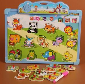 Wood Sound Animal Puzzle Factory Sales Directly