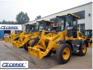 Csrex Compact Wheel Loader with Implements pictures & photos