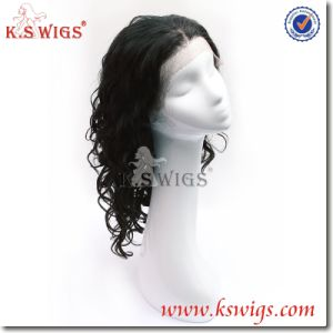 100% Human Hair Front Lace Wig Virgin Hair Wig pictures & photos
