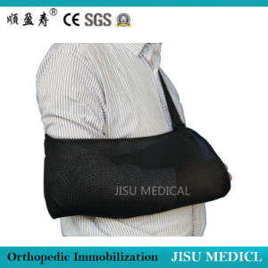 Jisu Medical Black Breathable Arm Sling pictures & photos