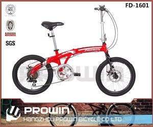 "16"" with Shimano 6speed Alloy Folding Bicycle (FD-1601)"