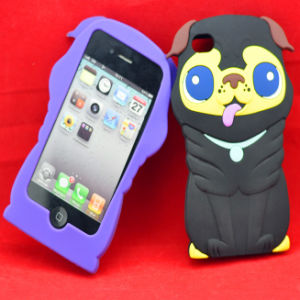 Dog Shaped Silicone Case for iPhone 4S