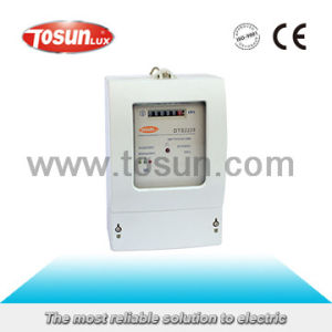 High Accuracy Three Phase Electronic Energy Meter (DTS2228) pictures & photos