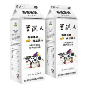 Mini 380ml Vinegar Gable Top Carton pictures & photos