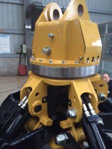 Excavator Orange Peel Grapple 5 Teeth Hydraulic Rotating Grab pictures & photos