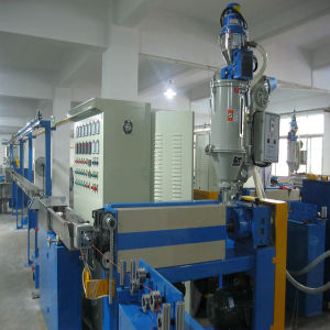 Wire Cable Jacket Sheath Extruder Machine Made in China pictures & photos