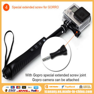 New Products Foldable Holder Aluminium Alloy Lightweight Selfie Stick Rk85e pictures & photos