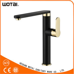 Black Finished Single Lever Kitchen Faucet Wt1102wb-Kf pictures & photos