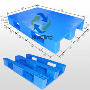 Euro Standard Heavy Duty Recycled Storage Used Plastic Pallet for Sale pictures & photos