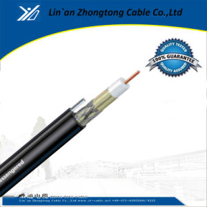 Coaxial Cable RG6 Tri-Shield with Ground Wire