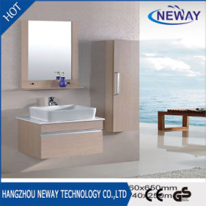 Modern Design Small Size Single Melamine Bathroom Cabinet pictures & photos