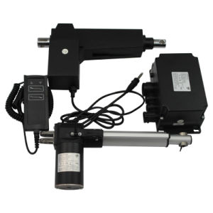 Linear Actuator 2 Button Handset 150mm Stroke Electric Linear Actuator 24V 8000n pictures & photos