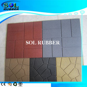 China 24 x24 18 x18 16 x16 outdoor patio rubber for 18 x 24 floor tile