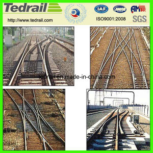 Simple Turnout Rail Components Railway pictures & photos