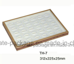 Wholesale Wooden Jewelry Gift Display Showcase Trays pictures & photos