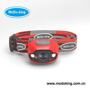 Red LED Headlamp with 3 AAA Battery (MT-802)