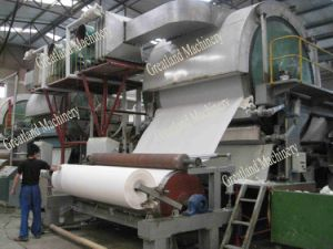 1880-4200 mm Tissue Paper Machine for Toilet Paper Roll pictures & photos