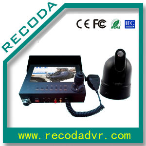 Whole PTZ Camera DVR and Monitor System for Police Car pictures & photos