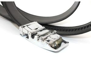 Men Ratchet Leather Belt (A5-140709) pictures & photos