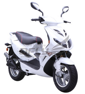 EEC Approved Gas Motor Scooter Equipped with 4 Stoke 125cc Engine (Raptor YY125T-28E) pictures & photos