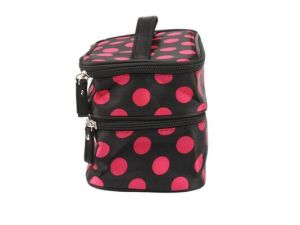 Lady Two Layer Travelling Cosmetic Makeup Bag (MS7030) pictures & photos