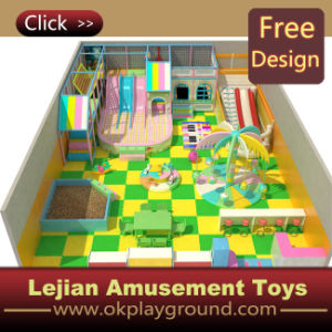 CE Easy Set up Soft Play Indoor Playground Equipment (ST1405-3) pictures & photos