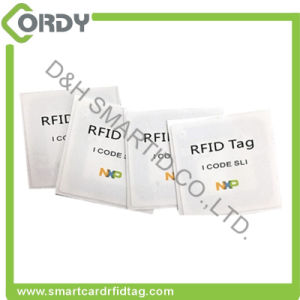 MIFARE Ultralight C waterproof adhesive RFID label sticker for animals pictures & photos