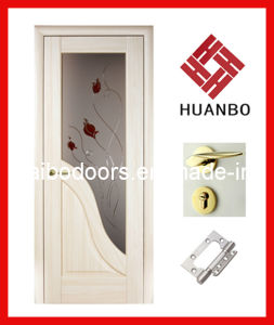 Latest Design MDF Interior Wooden PVC Door