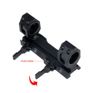 Tactical Quick Released Airsoft Rile Gun Double Ring Scope Mount pictures & photos