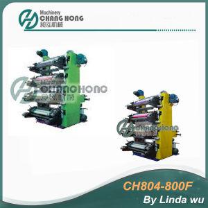 CE 4 Color Plastic Flexo Printing Machine (CH804-800F) pictures & photos