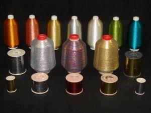 "M-Type 12micron 1/69"" Metallic Yarn (M-01) pictures & photos"